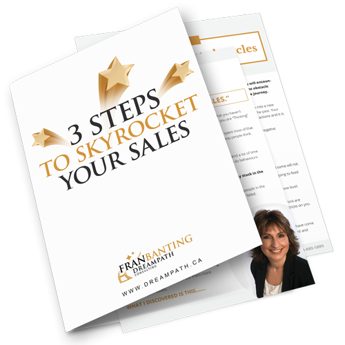 Report 3 Steps to Skyrocket your Sales